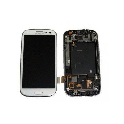 Pantalla (Lcd+tactil+marco) Galaxy S3 i9300 Blanca (directo de fabrica) 100% Testeada