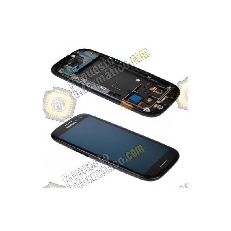 Pantalla (LCD+Táctil+Marco) Galaxy S3 i9300 Negra (directo de fabrica) 100% Testeada