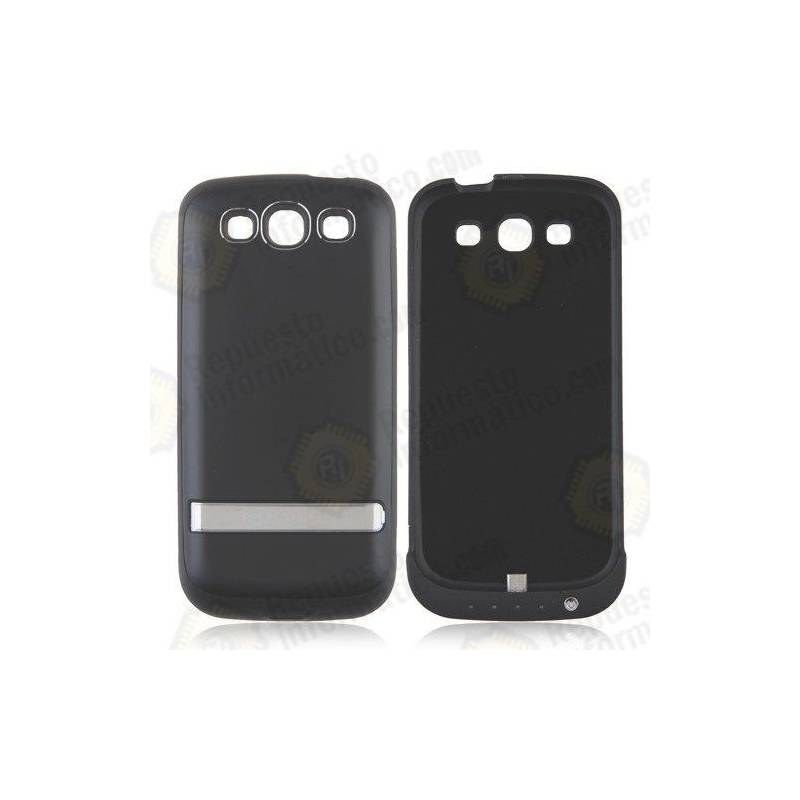 Carcasa Batería Samsung Galaxy s3 3200 mah Negro