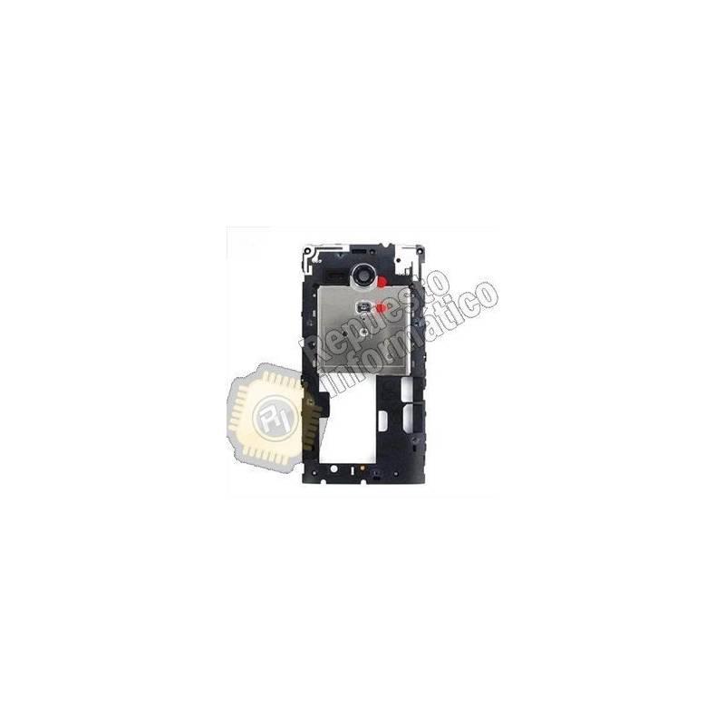 Carcasa Intermedia Sony Xperia SP C5303 Negra -