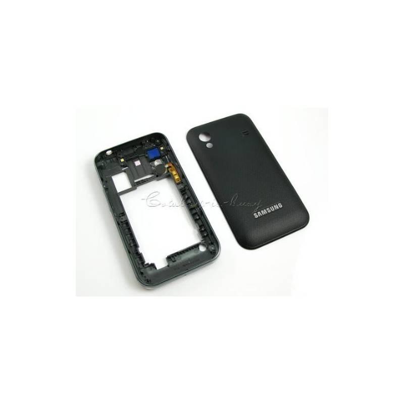 6c709f2d03a Carcasa Central Negra Samsung S5830+Tapa
