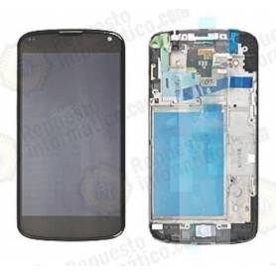 Pantalla (LCD+Táctil+Marco) LG E960 Google Nexus 4