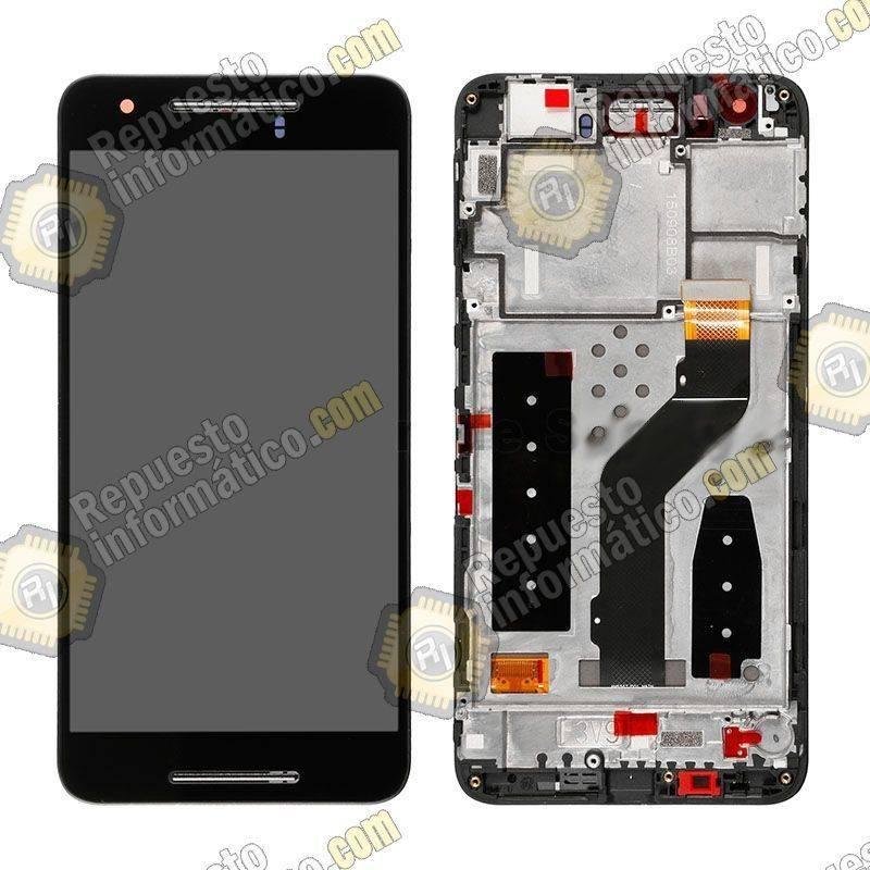 Pantalla (LCD+Táctil+Marco) Negra Huawei Google Nexus 6P