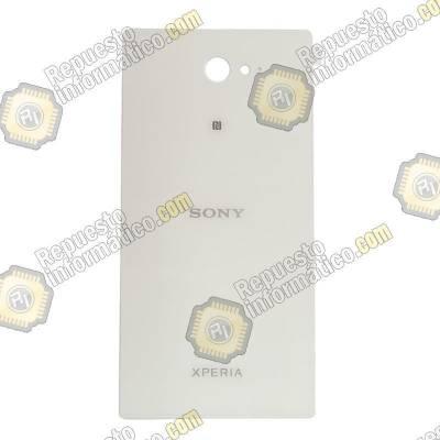 Swap Tapa Trasera+ Lente+ NFC Xperia M2 (Blanca)