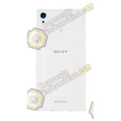 Tapa Trasera+ Lente+ NFC Xperia M4 Aqua E2303/06/53 (Blanca) Swap