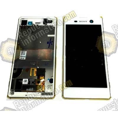 Pantalla (LCD+Táctil+Marco) Xperia M5 (Blanca)
