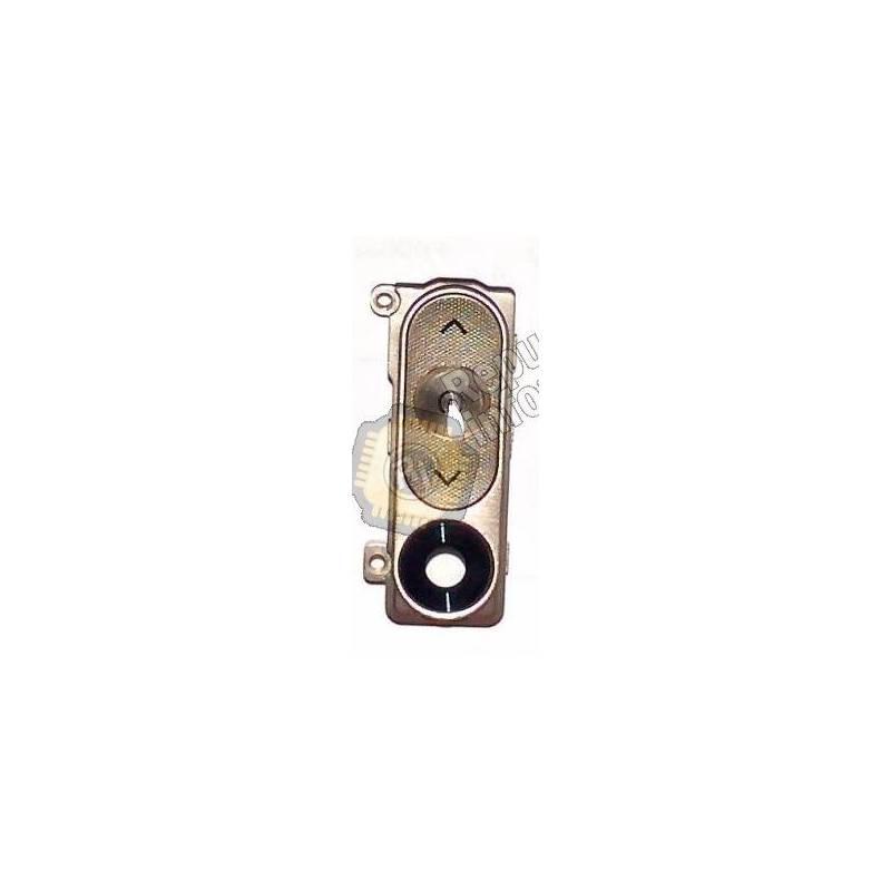 Botones traseros dorados + Marco y lentilla LG Optimus G3 D855