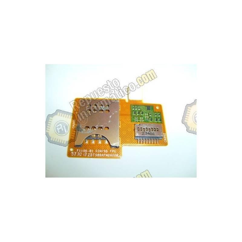 Flex Lector Sim Y Memoria Sony Xperia Miro St23i