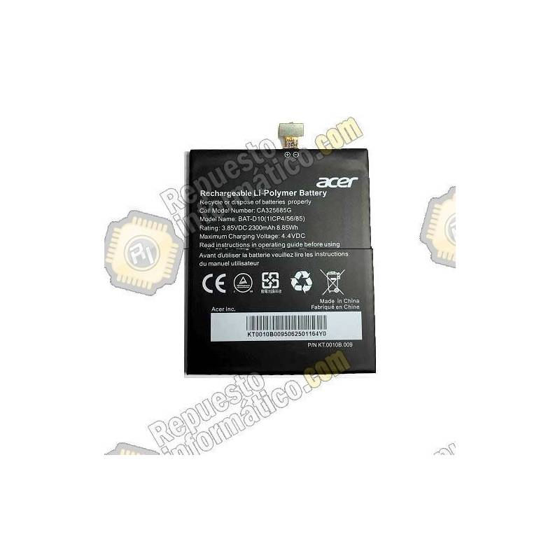 Batería Acer Liquid Jade S, Jade Z 2320Mah