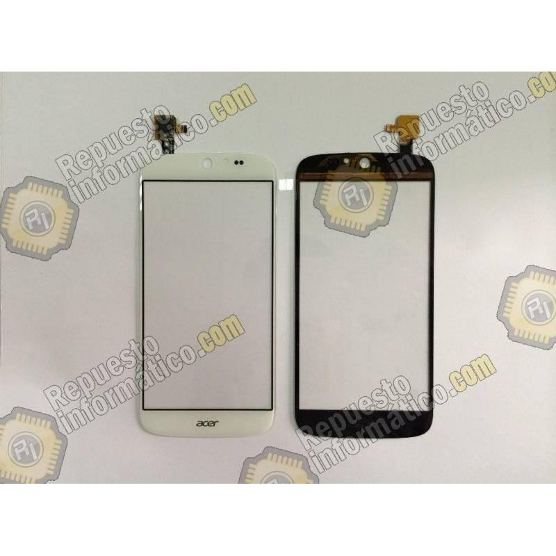 Táctil Blanco para Acer Jade S55