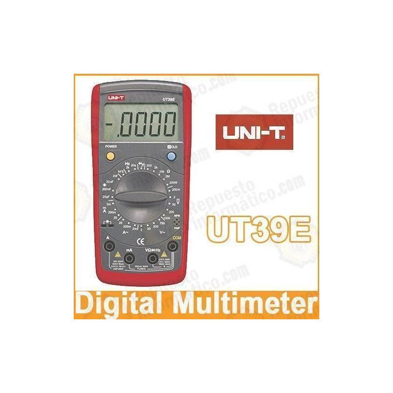 Multimetro digital UNI-T 39 Profesional