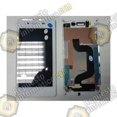 Pantalla Lcd + Tactil Xperia E3 (D2202,D2203) blanca (sin marco)
