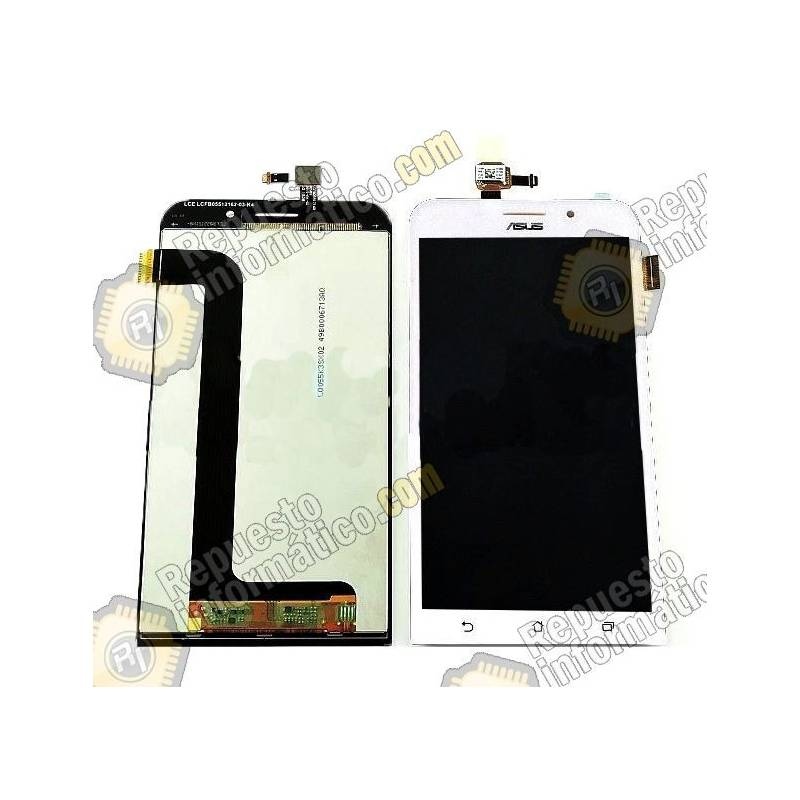 Pantalla (LCD+Táctil)al Asus Zenfone Max ZC550KL (Blanca)