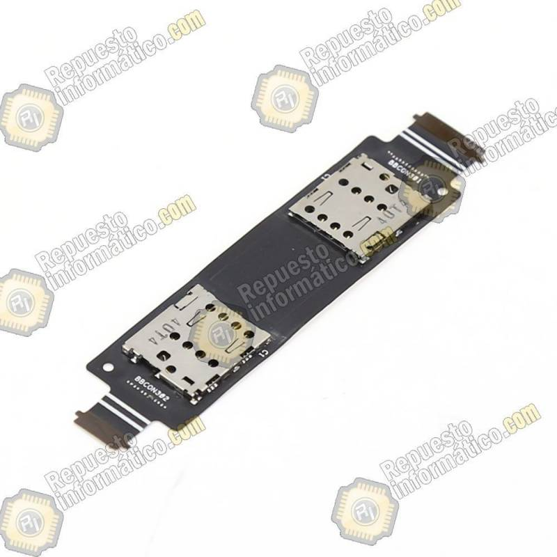 Flex Conector de tarjeta Sim Dual Asus Zenfone 5 / A500CG