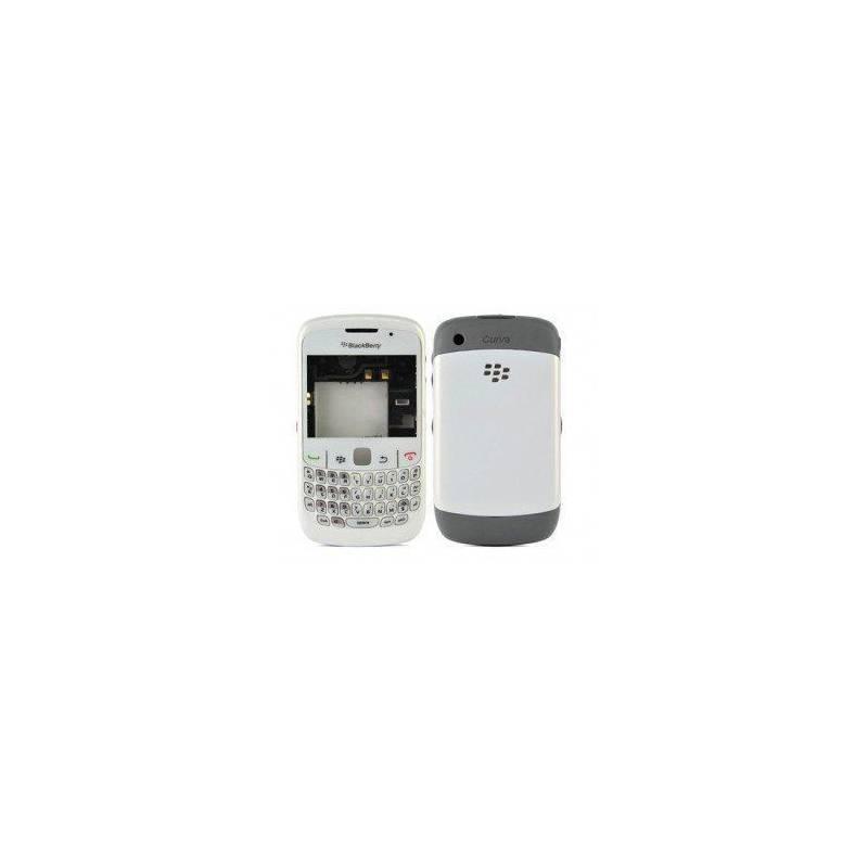 Carcasa Blackberry Blanca Completa