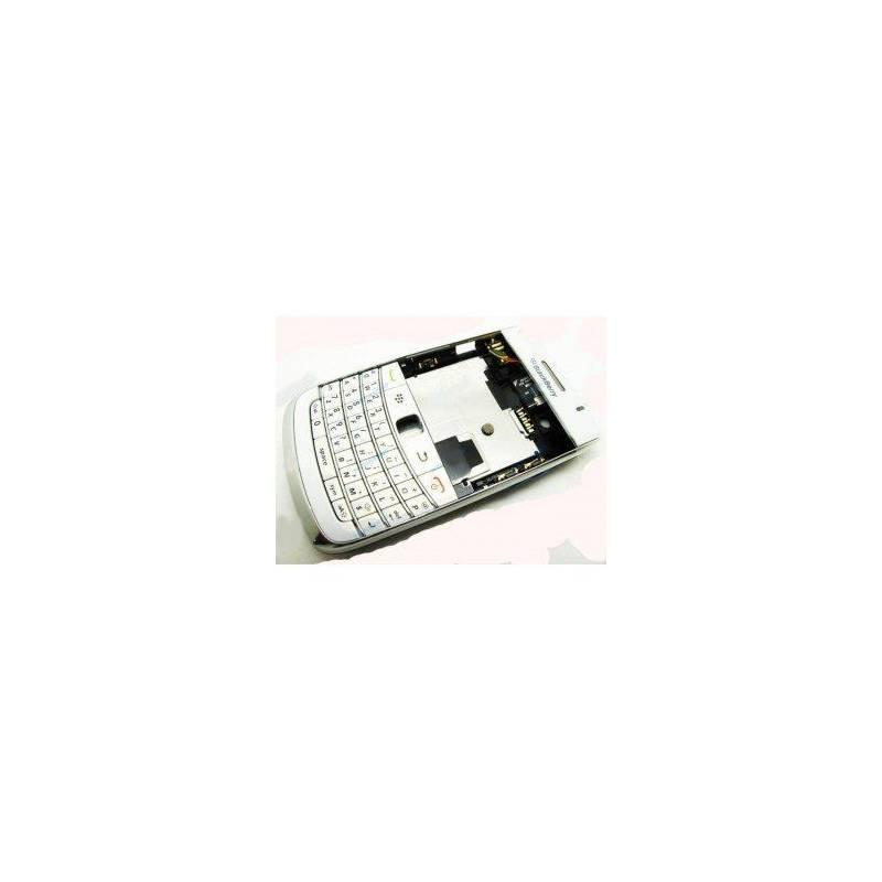 Carcasa Blackberry BOLD 9780 Blanca