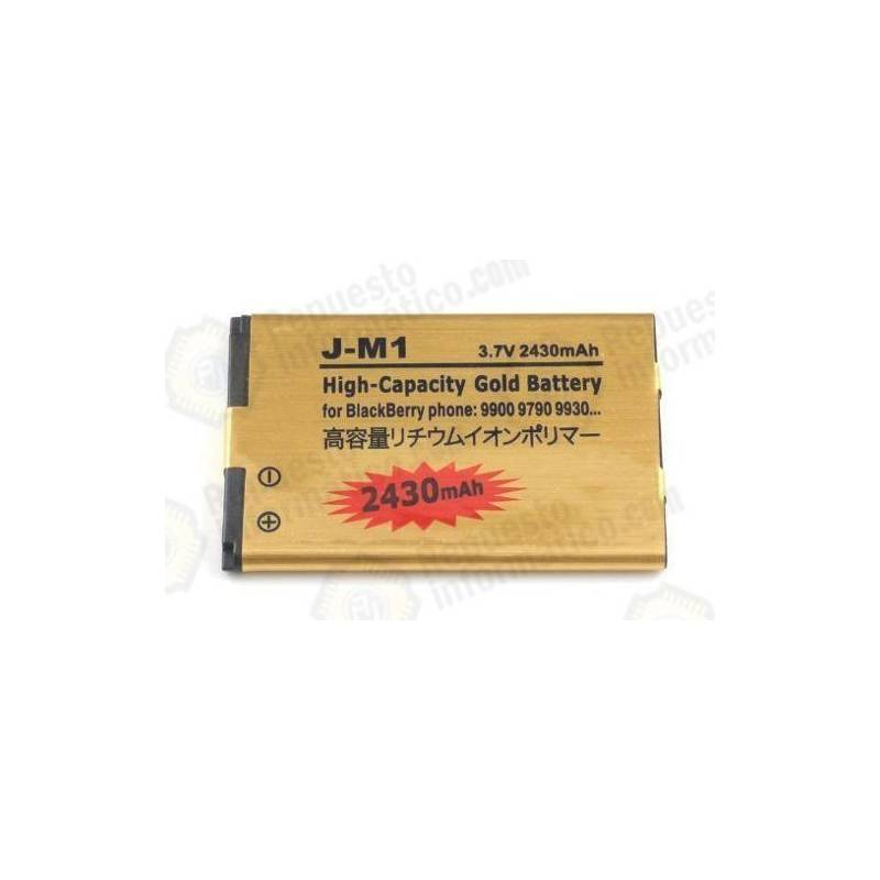 Batería alta capacidad Blackberry J-M1 2430 MAh