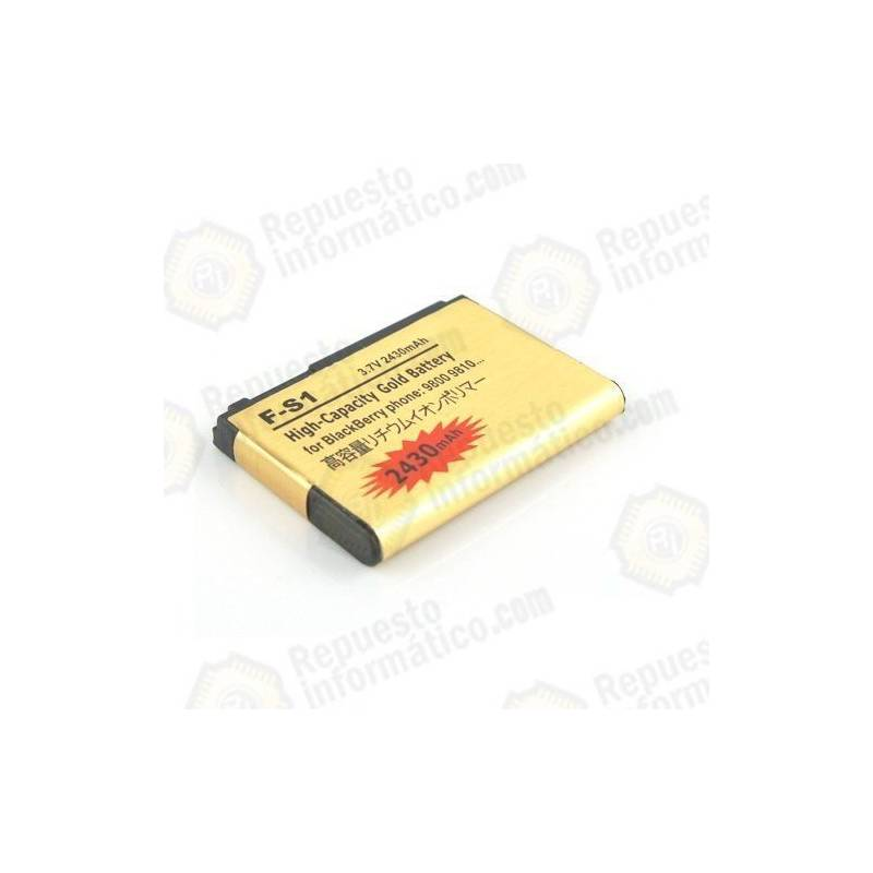 Batería alta capacidad Blackberry F-s1 2430 MAh