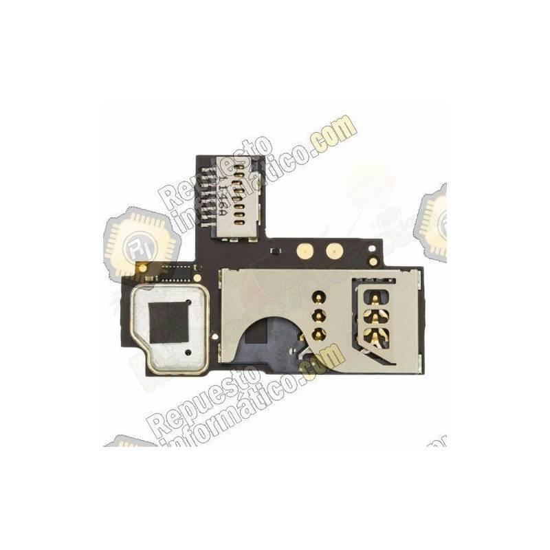 Lector Sim + Micro SD Blackberry Curve 9360