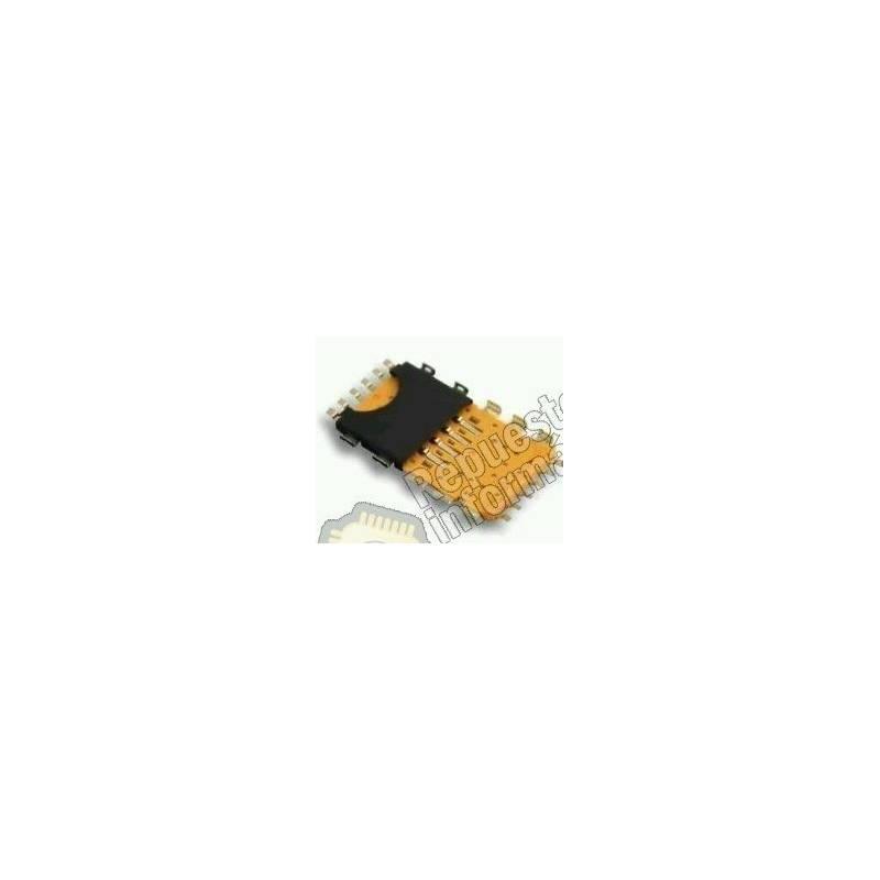 Conector Lector Sim Blackberry 9900