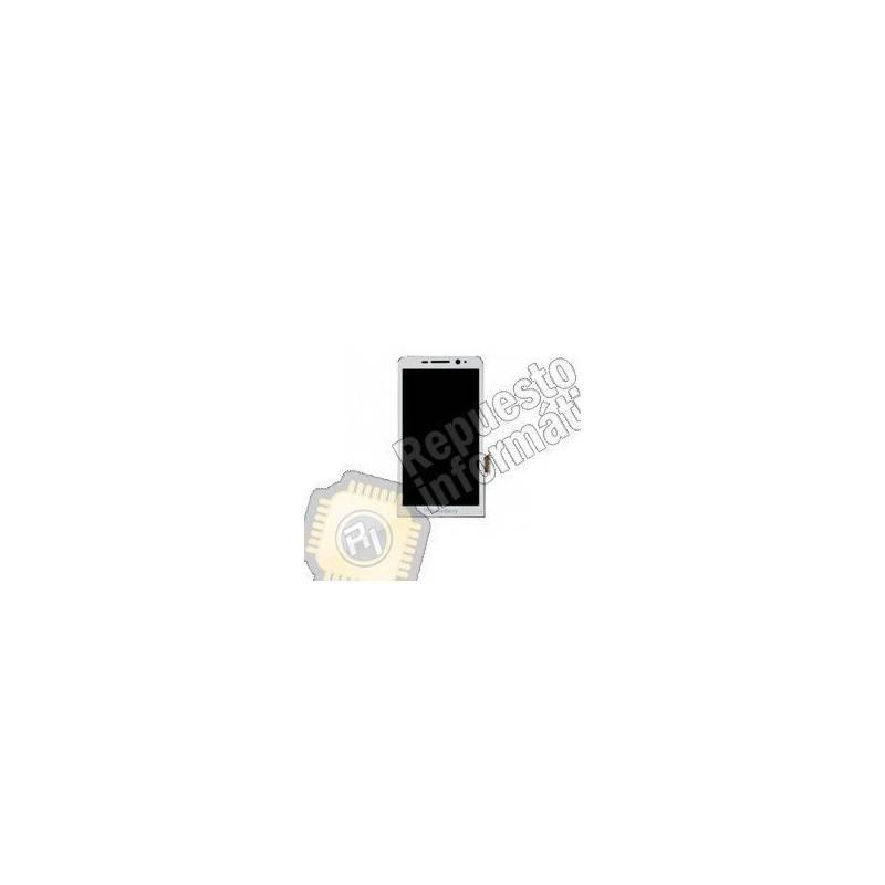 Pantalla Completa para Blackberry Z30 con Marco (Blanca)