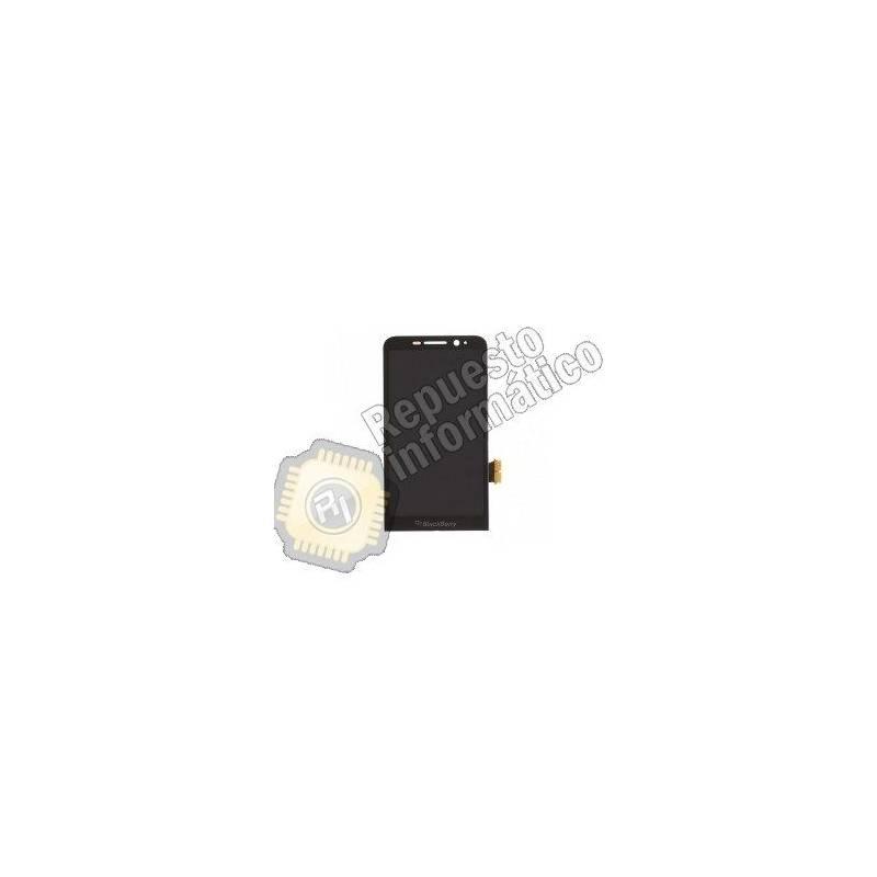 Pantalla Completa para Blackberry Z30 con Marco (Negra)