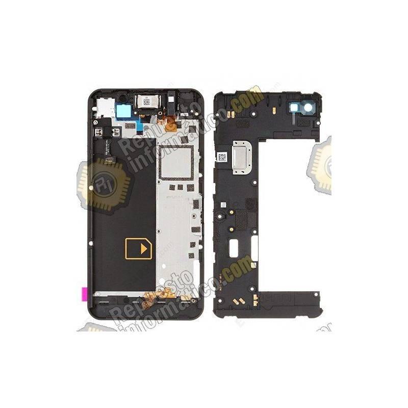 Pantalla (LCD+Táctil+Marco) Negra Blackberry Z10 version 4G