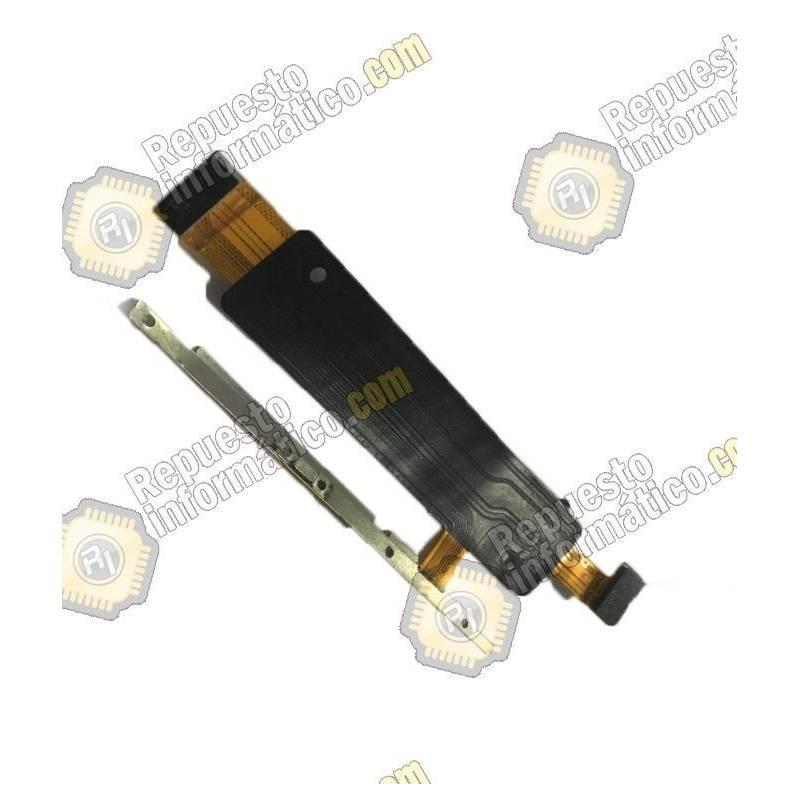 Flex de Volumen y Encendido On / Off Xperia M4 Aqua E2303 Nuevo