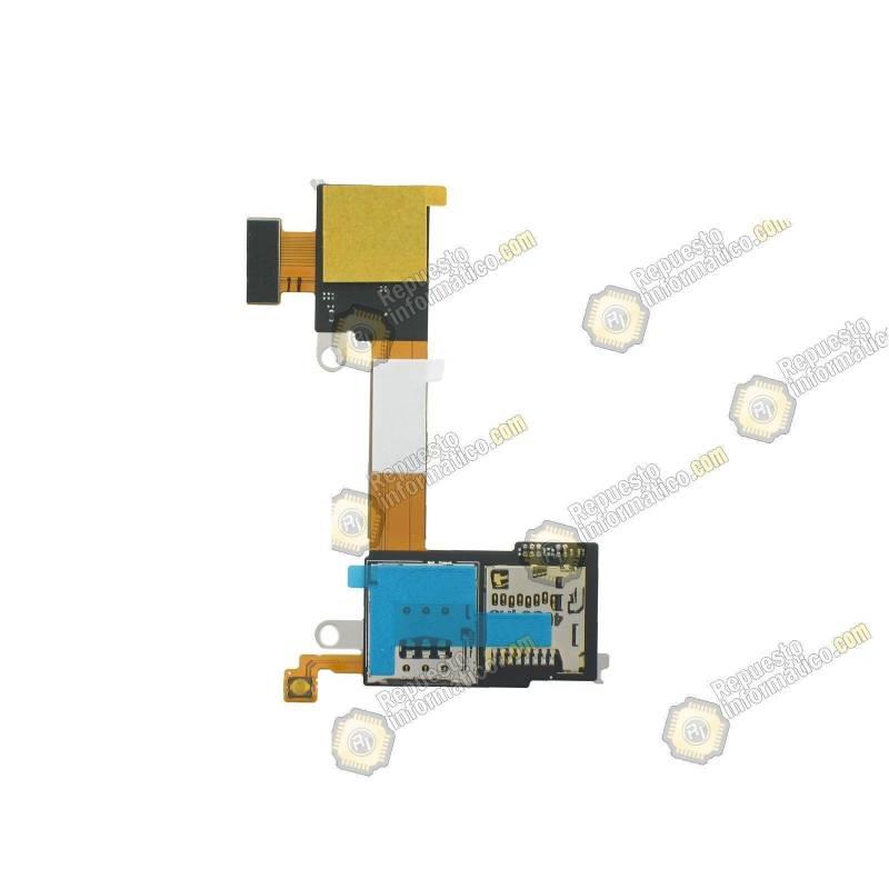 Flex Sim y memoria Micro SD para Sony Xperia M2 (AQUA ) (Swap)