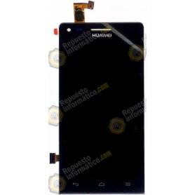 Pantalla completa (Display + Tactil ) Huawei Ascend G6 (Orange Gova) Negra