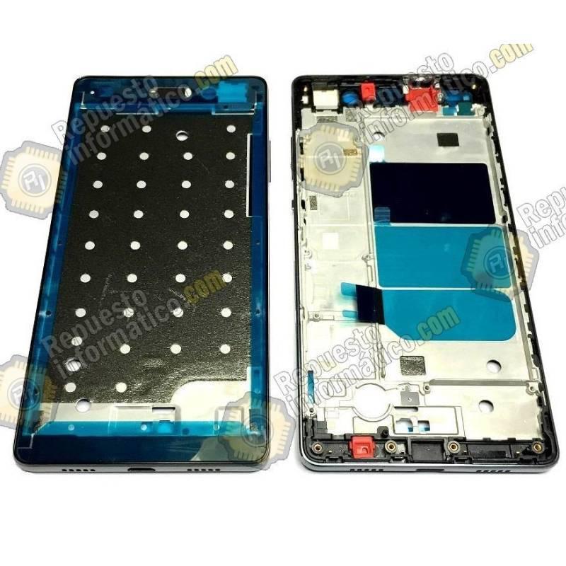 Carcasa Frontal Huawei P8 Lite (Negra)
