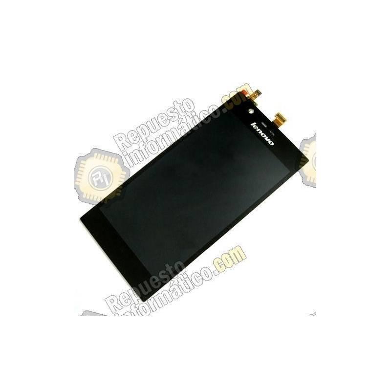Pantalla (LCD + Táctil) Lenovo K900 Negra