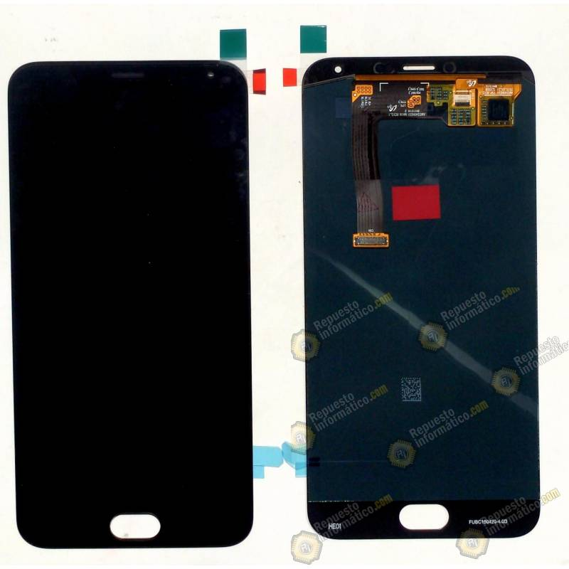 Pantalla (LCD+Táctil) Meizu MX5 Negra