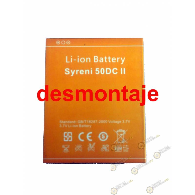 Batería Szenio Syreni (50 DCii) (Swap)