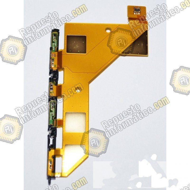Flex Lateral de Carga para Sony Xperia Z3, D6603 (Swap)