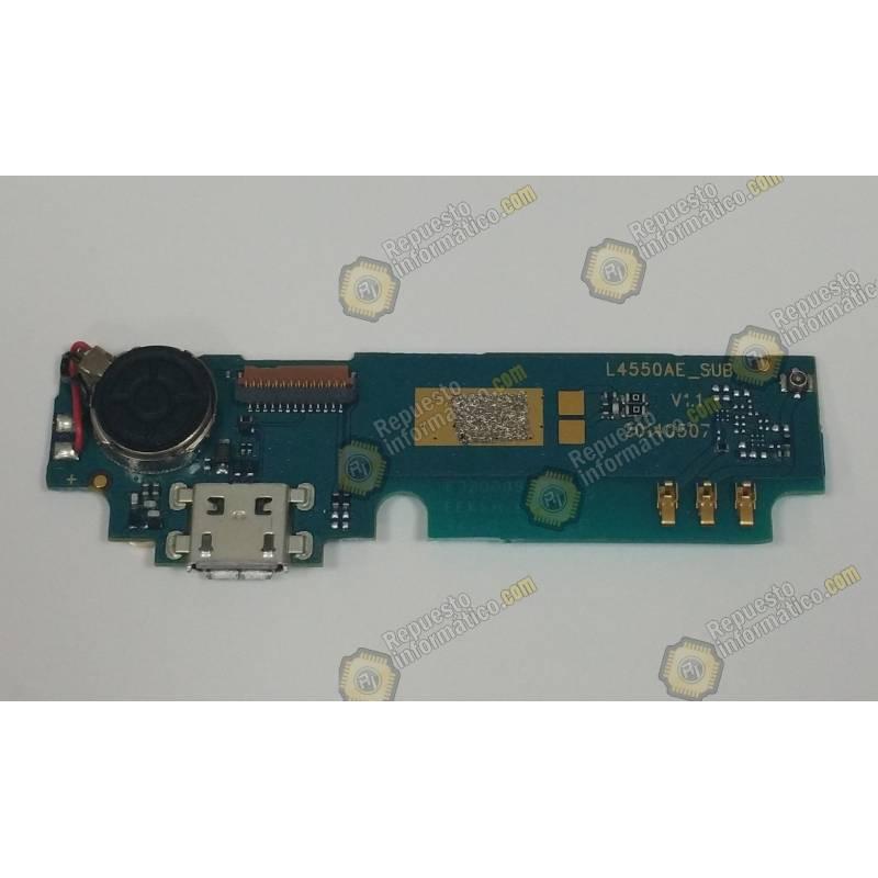 Placa Vibrador + Microfono Wiko Birdy