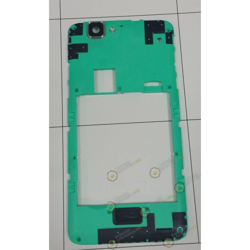 Carcasa intermedia con lente Swap Wiko Rainbow 4G