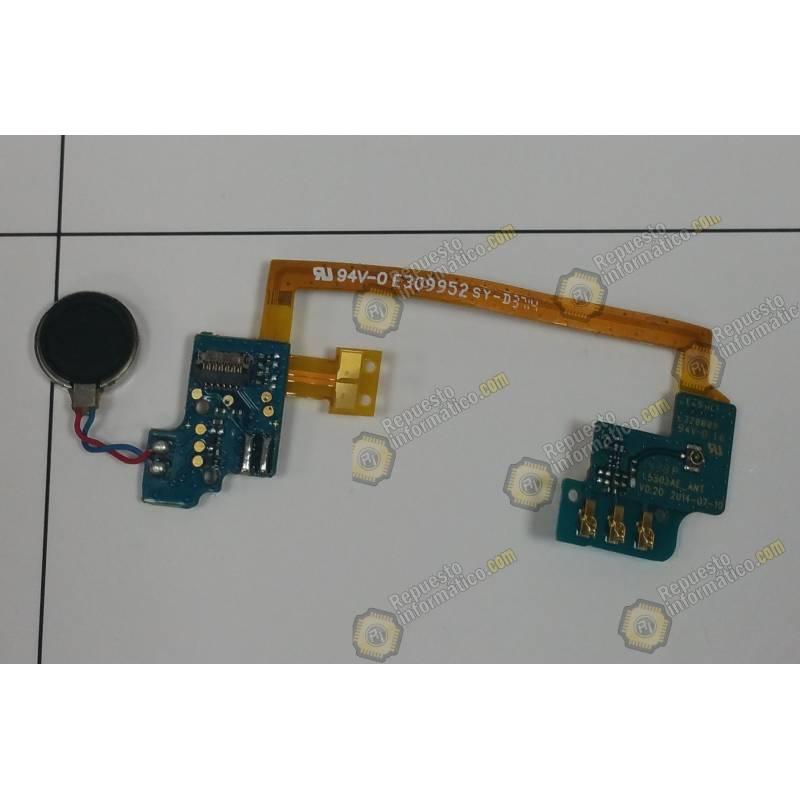 Cable Flex +Placa Vibrador + Placa Antena Wiko rainbow 4G